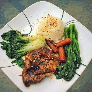 Slow-Cooker Mongolian Pork Chops