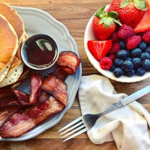 Perfect Bacon & Pancakes