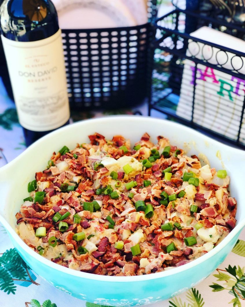 Drake Meats Bacon Potato Salad